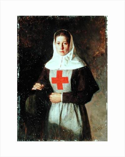 A Nurse by Nikolai Aleksandrovich Yaroshenko