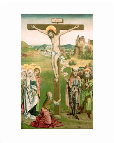 Crucifixion by Hungarian School