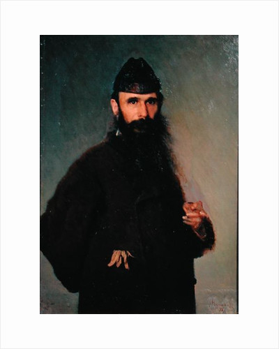 Portrait of Alexander Litovtchenko by Ivan Nikolaevich Kramskoy