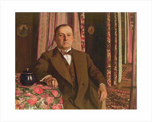 Portrait of Georg E. Haasen by Felix Edouard Vallotton
