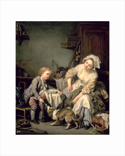 Spoilt Child by Jean Baptiste Greuze