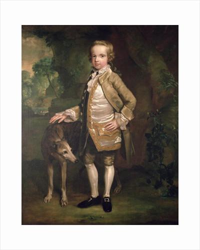 Sir John Nelthorpe, 6th Baronet as a Boy by George Stubbs