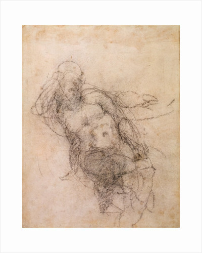 Study for Noah in 'The Drunkenness of Noah' by Michelangelo Buonarroti