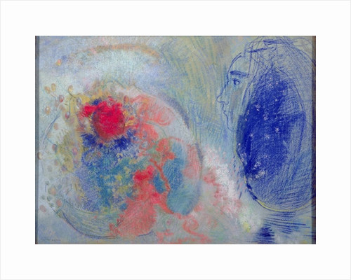Night and Day by Odilon Redon
