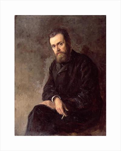 Portrait of Gleb I. Uspensky by Nikolai Aleksandrovich Yaroshenko