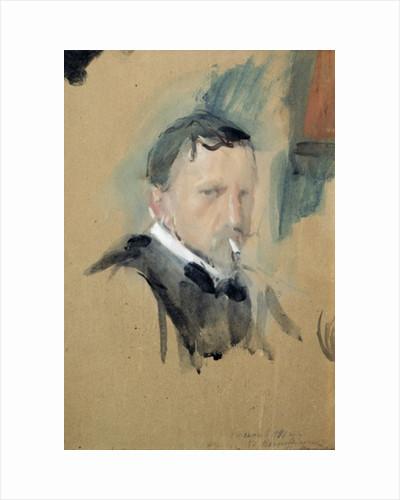 Self Portrait by Valentin Aleksandrovich Serov