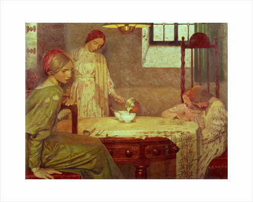 In the Depth of Winter by Frederick Cayley Robinson
