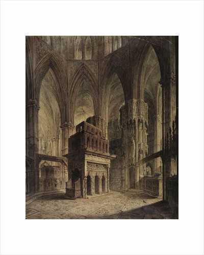 Edward the Confessor's Shrine, Westminster Abbey by John Coney