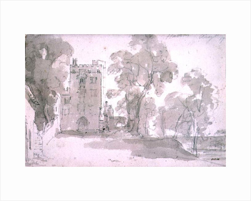 Haddon Hall by John Constable
