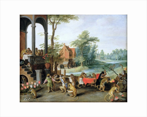 A Satire of the Folly of Tulip Mania by Jan the Younger Brueghel