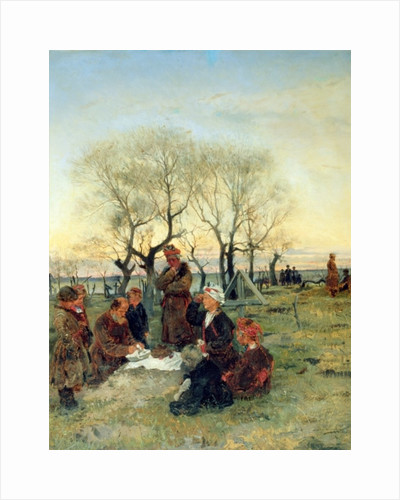 Funeral Repast at the Grave by Vladimir Egorovic Makovsky
