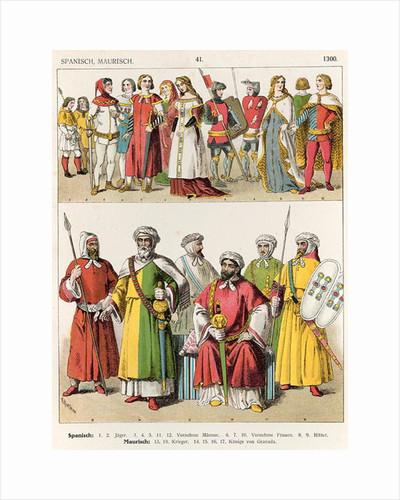 Spanish and Moorish Dress by Albert Kretschmer