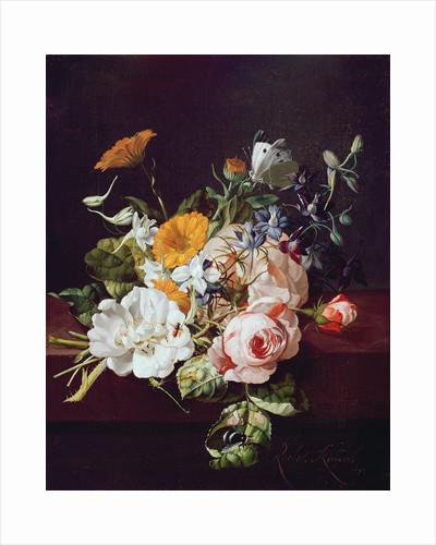 Vase of Flowers by Rachel Ruysch