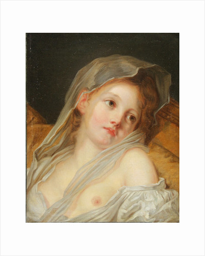 A Dreamer by Jean Baptiste Greuze