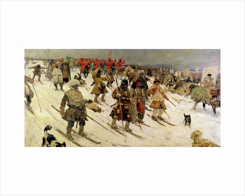 A military campaign in Russia during the 16th century by Sergej Vasilevic Ivanov