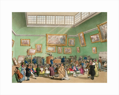 Christie's Auction Room by T. & Pugin