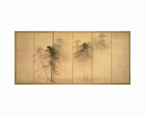 The forest of pines by Hasegawa Tohaku