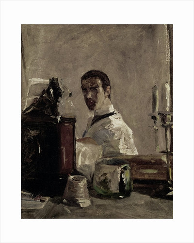 Self Portrait by Henri de Toulouse-Lautrec