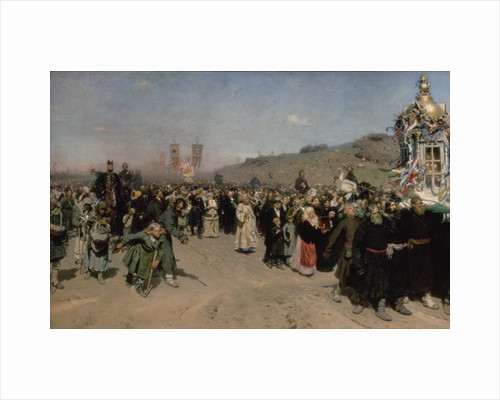 A Religious Procession in the Province of Kursk by Ilya Efimovich Repin