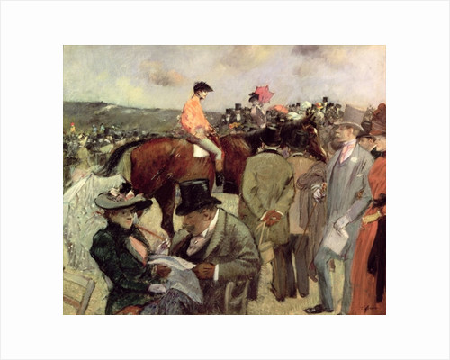 The Horse-Race by Jean Louis Forain