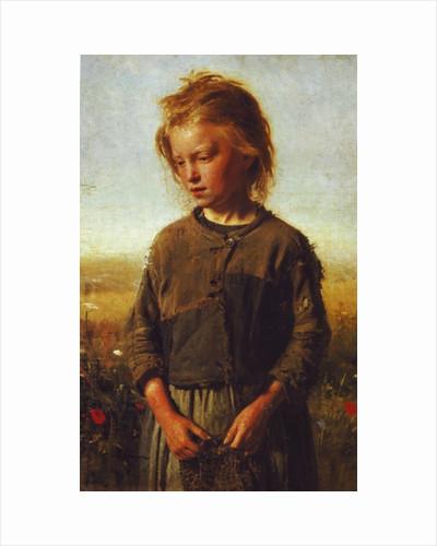 Fisher girl by Ilya Efimovich Repin