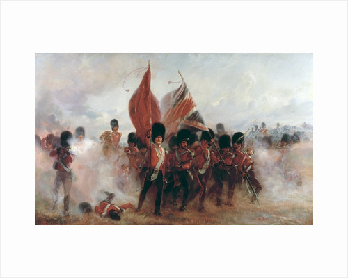 The Colours: advance of the Scots Guards at the Alma by Lady Butler