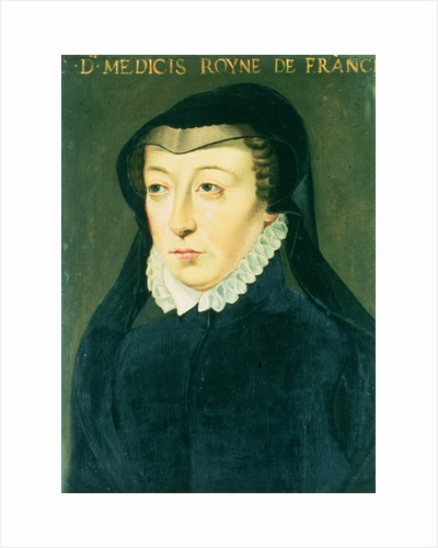 Catherine de Medici by French School