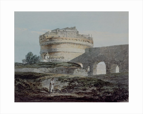 Castle of San Angelo, Rome by Joseph Mallord William Turner