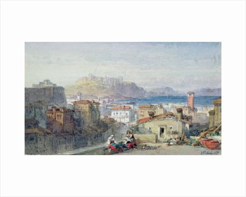 Naples, 19th century; watercolour; by William Leighton Leitch