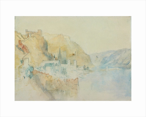On The Rhine by Joseph Mallord William Turner