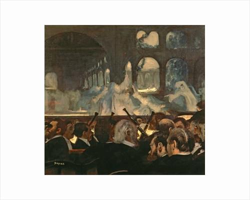 The ballet scene from Meyerbeer's opera 'Robert le Diable' by Edgar Degas