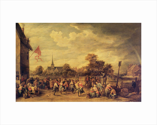 The Kermesse by David the Younger Teniers