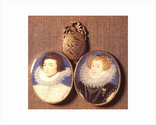 John Croker and his wife Frances by Nicholas Hilliard