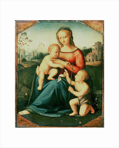 Madonna and Child with St. John the Baptist by Italian School