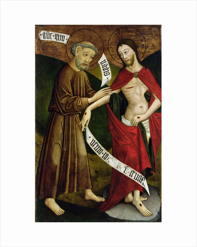 Christ and St. Thomas by Hungarian School