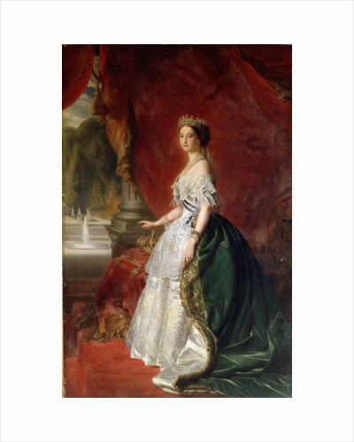 Portrait of Empress Eugenie of France by Austrian School