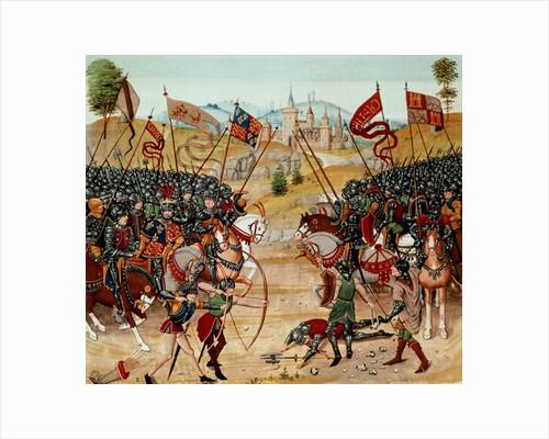 Battle of Najera by French School