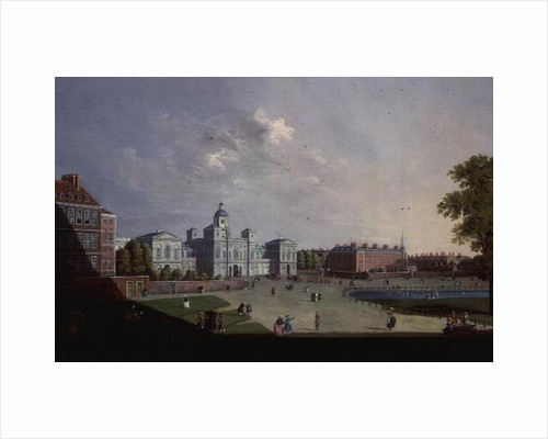 The Horse Guards Parade, Westminster by William James