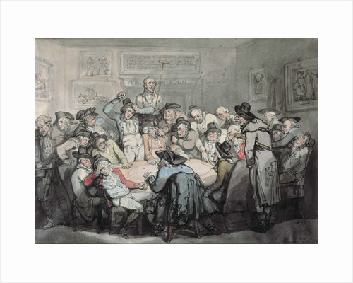 The Hazard Room by Thomas Rowlandson