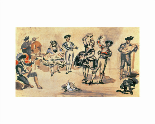 Spanish Dancers by Edouard Manet