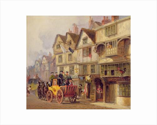 The Cock Tavern by Albert Joseph Moore