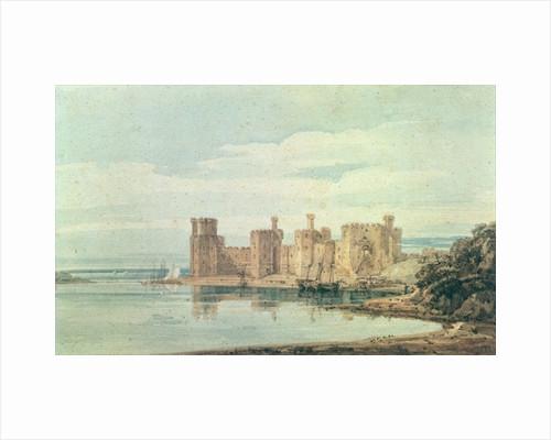 Caernarvon Castle by Thomas Girtin