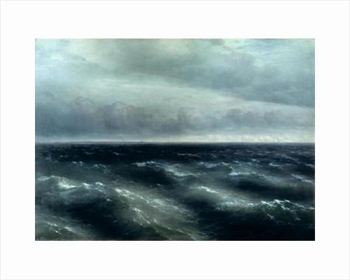 The Black Sea by Ivan Konstantinovich Aivazovsky
