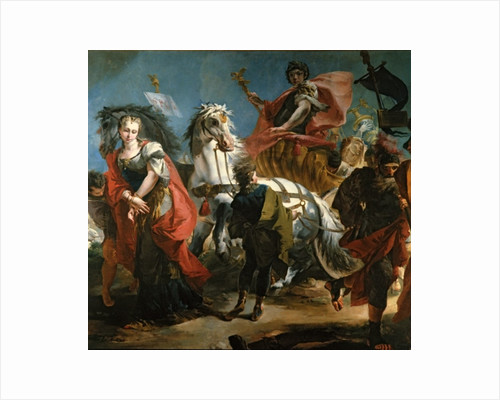 The Triumph of Marcus Aurelius by Giandomenico Tiepolo