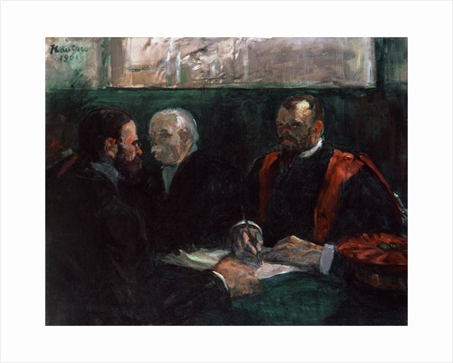 Examination at the Faculty of Medicine by Henri de Toulouse-Lautrec