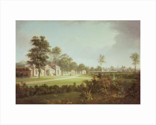Annefield with Glasgow beyond by Alexander Nasmyth