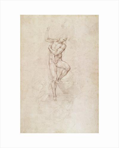 W.53r The Risen Christ by Michelangelo Buonarroti