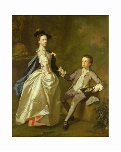 The Hon. Rachel Hamilton and her brother, the Hon. Charles Hamilton by Allan Ramsay