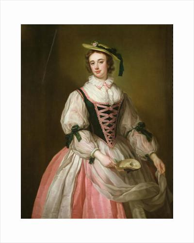 Portrait of Frances Macartney by George Knapton