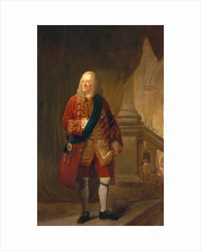 King George II by Robert Edge Pine